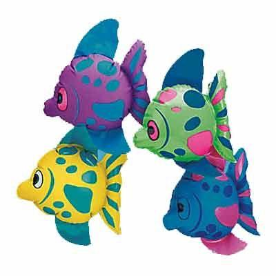 Inflatable Fish Assortment 7
