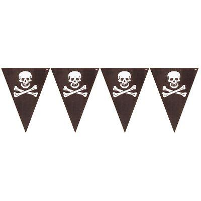 Pirate's Treasure Flag Banner