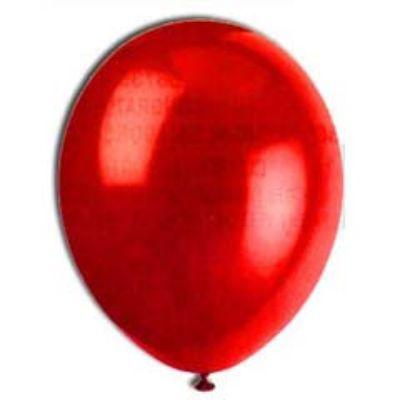 Ruby Red Latex Balloons 12