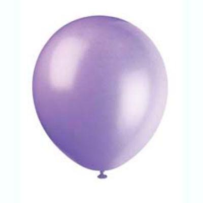Spring Lavender Latex Balloons 12
