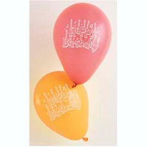 "Happy Birthday Latex Balloons 5"" - 15 Pack"