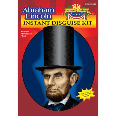 Abraham Lincoln Instant Child Disguise Kit