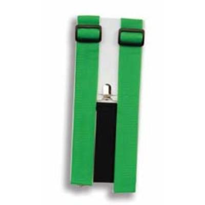 Neon Green Adult Suspenders
