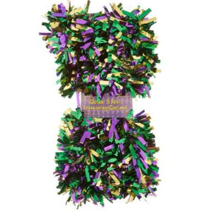 Mardi Gras Gleam and Festival Garland - 15'
