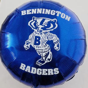 Bennington Badgers Mylar Balloon 18""