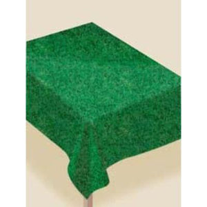 "Grass 52"" x 90"" Table Cover w/ Flannel Back"