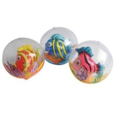 Inflatable Internal Fish Beach Ball 17