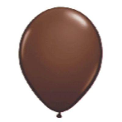 Brown Latex Balloons 5