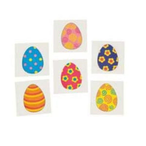 Easter Egg-streme Tattoos - 36 Pack