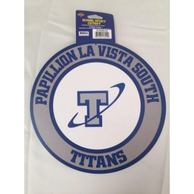 Papillion La Vista South Titans Circle Cutout 14