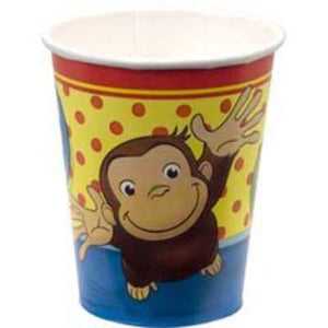 Curious George 9oz Cup 8 Pack