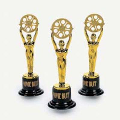 "Movie Buff"" Gold Trophies"