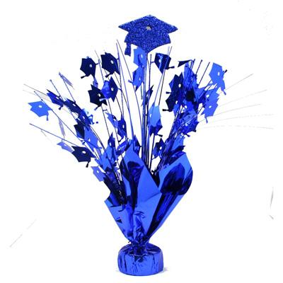 Blue Graduation Cap Balloon Weight 14