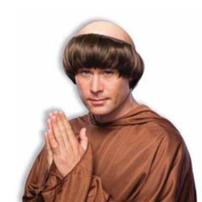 Monk Brown Wig