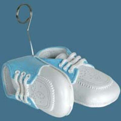 Blue Baby Shoes Balloon Weight