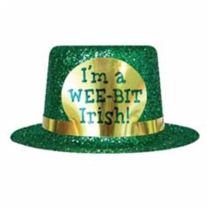 I'm A Wee-Bit Irish Mini Top Hat 4""