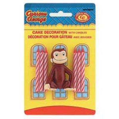 Curious George Cake Decoration