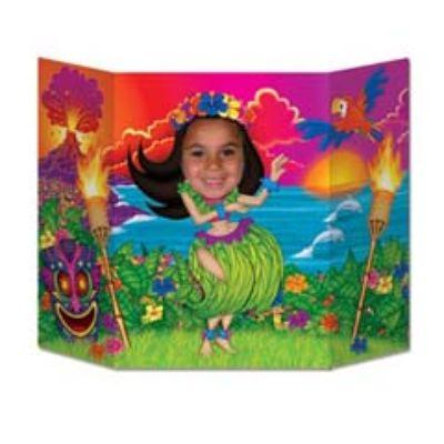PHOTO PROP HULA GIRL 37X25
