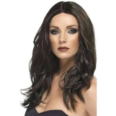 Dark Brown Long Wig