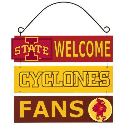Iowa State Welcome Fan Sign