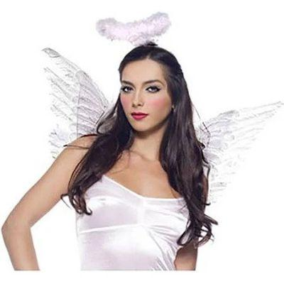 White Angel Adult Costume Accessory Kit