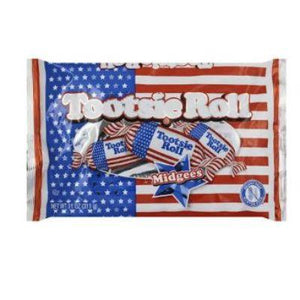 American Flag Tootsie Midgees 11 oz. Bag