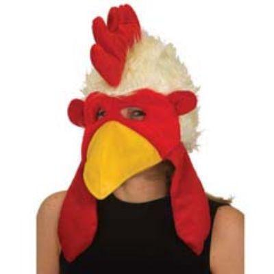 Rooster Deluxe Plush Mask