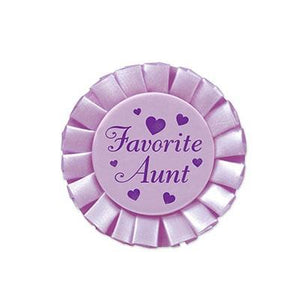 Button Favorite Aunt 3""