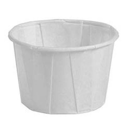 White Paper Nut Cup 40 Pack
