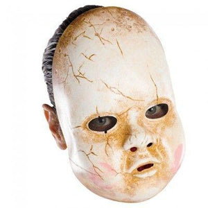 Chinless Doll Vinyl Adult Mask