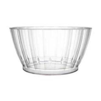 BOWL ELEGNT CLEAR PL 6OZ PK20