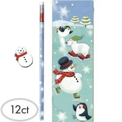 Winter Fun Stationery Set - 12 Pack