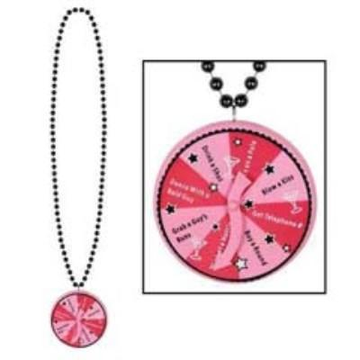 Bachelorette Beads with Spinner Medallion