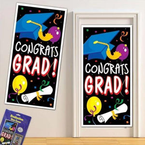 Congrats Grad Graduation Door Cover