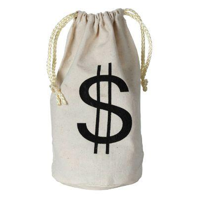 20s Fabric Money Bag With Drawstring