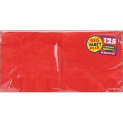 Apple Red Lunch Napkins - 125 Pack