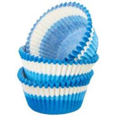 Blue Swirl Paper Cups 32 Pack