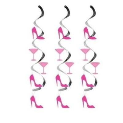 Sassy Martini Heel Dangeler - 5 Pack