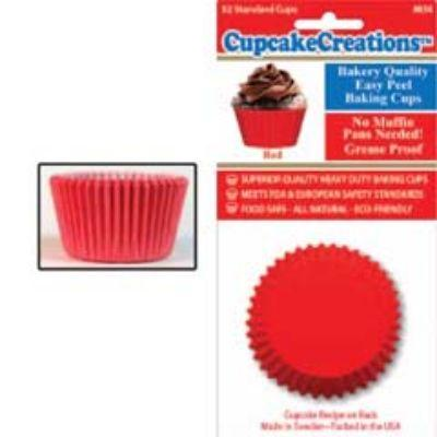 Red Standard Paper Cups 32 Pack