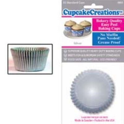 Silver Standard Paper Cups 32 Pack
