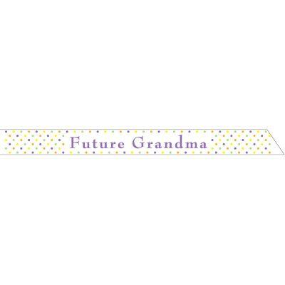 Satin Future Grandma Sash