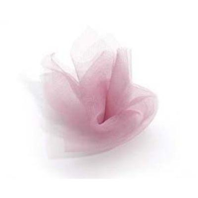 TULLE SPOOL DUSTY ROSE 6