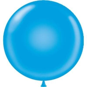 Solid Assorted Single Latex Balloon 24""