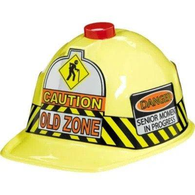 Over The Hill Flashing Safety Hat