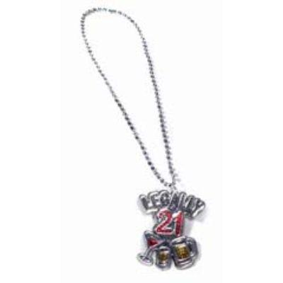 Legally 21 Necklace
