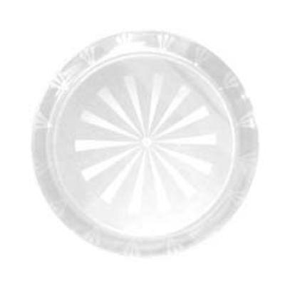 Clear Plastic Round Tray 12