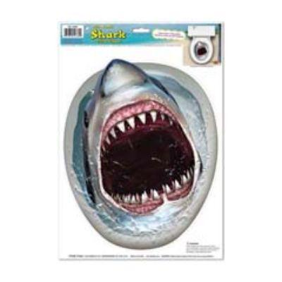 TOILET SEAT COVER SHARK