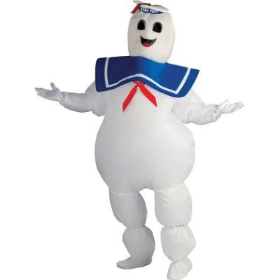 Stay Puft Marshmallow Man Inflatable Adult Costume - Ghostbusters