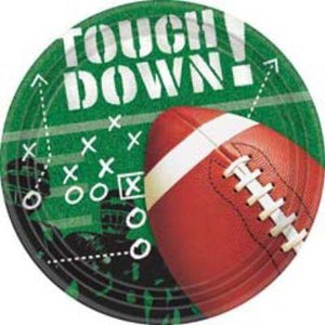 Football Frenzy Dessert Plate 50 Pack