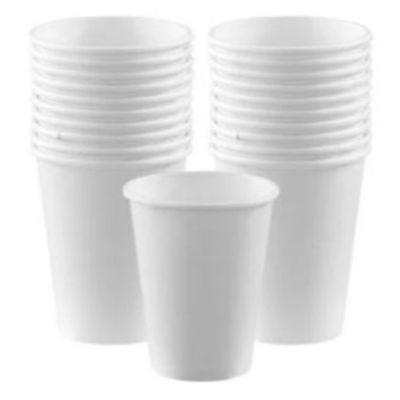 Frosty White Paper Cup 9 oz. - 20 Pack